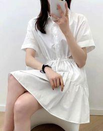 Фустан - код 6292 - бело