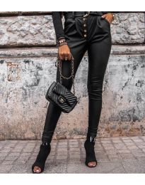 Панталони - код 5698 - црна