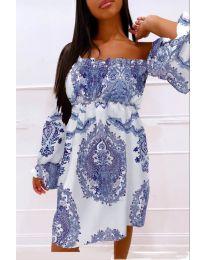 Фустан - код 757 - темно сина