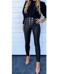 Панталони - код 5643 - црна