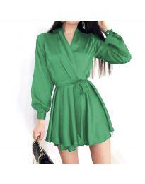 Фустан - код 8754 - зелена