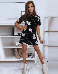 Фустан - код 2906 - црна