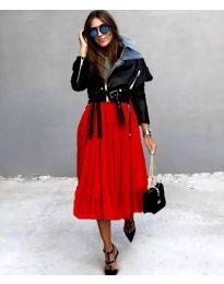Сукња - код 2522 - црвена