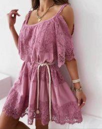 Фустан - код 6954 - пудра