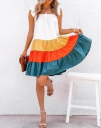 Фустан - код 4825 - 1 - шарено