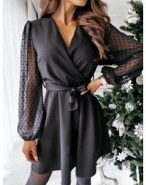Фустан - код 1600 - 1 - црна