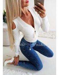Блуза - код 163 - бела