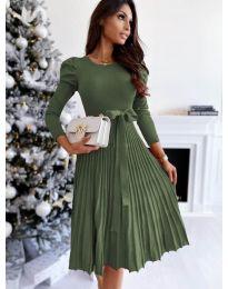 Фустан - код 3939 - путер зелена