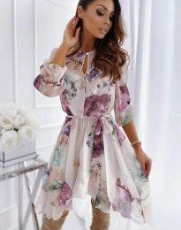 Фустан - код 2738 - шарена