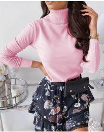 Блуза - код 8861 - 12 - розова