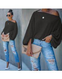 Блуза - код 5151 - црна