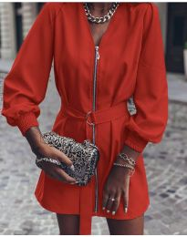 Фустан - код 820 - црвена