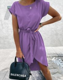Фустан - код 2074 - виолетова