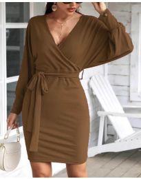 Фустан - код 1197 - кафеава