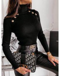 Блуза - код 1910 - црна