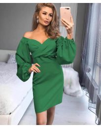 Фустан - код 6761 - зелена