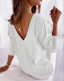 Блуза - код 5173 - 2 - бело