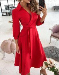 Фустан - код 2861 - црвена