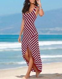 Фустан - код 5669 - 2 - црвена