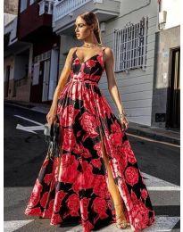 Фустан - код 5520 - црвена