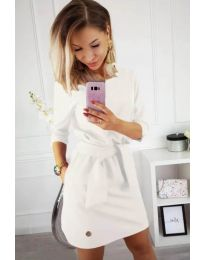 Фустан - код 594 - бела
