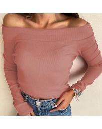 Блуза - код 3234 - пудра