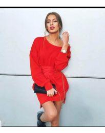 Фустан - код 854 - 2 - црвена