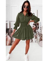 Фустан - код 1843 - зелена