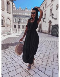 Фустан - код 1230 - црна