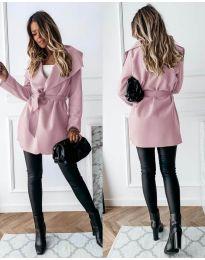 Палто - код 643 - розова