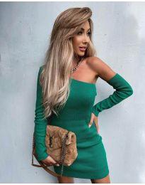 Фустан - код 4933 - зелена