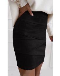 Сукња - код 7451 - црна