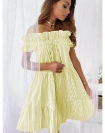 Фустан - код 0299 - жолта