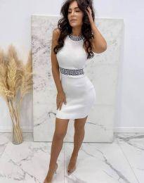 Фустан - код 2593 - бело