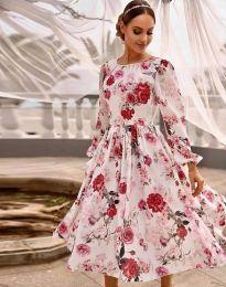 Фустан - код 4382 - шарена