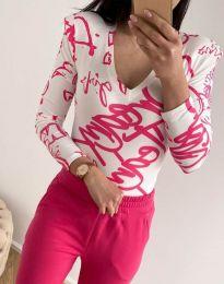 Блуза - код 11633 - шарено