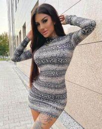 Фустан - код 2452 - шарено