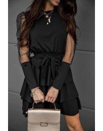 Фустан - код 8384 - црна