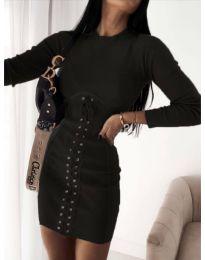Фустан - код 4453 - 4 - црна