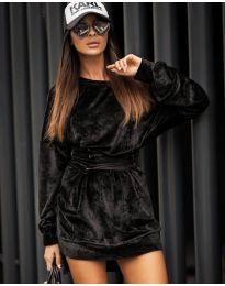 Фустан - код 8989 - црна