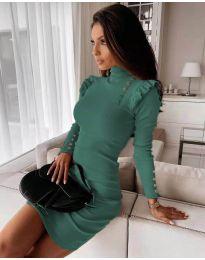 Фустан - код 8484 - тиркизна