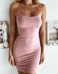 Фустан - код 9098 - розова