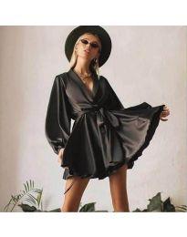 Фустан - код 2428 - црна