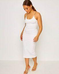 Фустан - код 2580 - бело