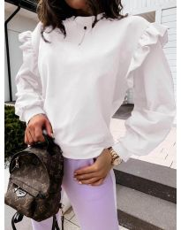 Блуза - код 6613 - бело