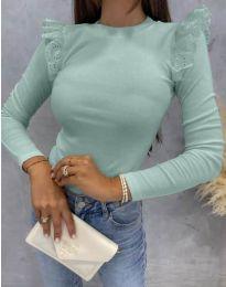 Блуза - код 1663 - ментол
