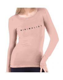 Блуза - код 3337  - 1 - розова