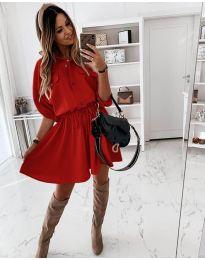 Фустан - код 8586 - црвена