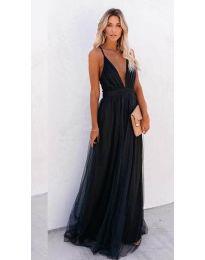 Фустан - код 5587 - црна