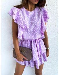 Фустан - код 7740 - виолетова